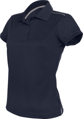 Kariban - Kurzarm Damen Interlock Polo Quick Dry (navy)