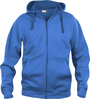 Clique - Basic Hoody Full Zip (royal blue)