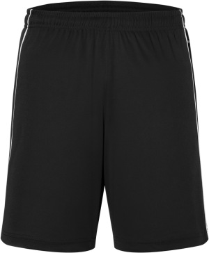 James & Nicholson - Basic Team Shorts (Black/White)