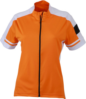 James & Nicholson - Ladies´ Bike-T Full Zip (Orange)