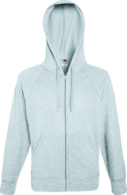 Fruit of the Loom – Lightweight Hooded Sweat Jacket