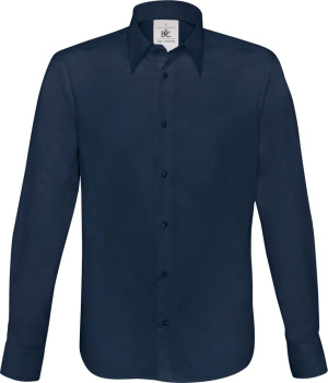 B&C - Hemd London / Men (Navy)