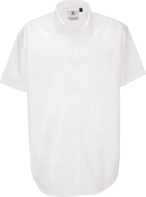 B&C – Poplin Shirt Heritage Short Sleeve / Men