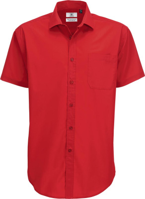 B&C – Poplin Shirt Smart Short Sleeve / Men