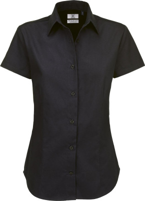 B&C – Twill Shirt Sharp Short Sleeve / Women