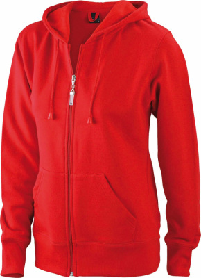 James & Nicholson – Ladies' Hooded Jacket