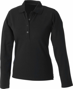 James & Nicholson – Ladies' Elastic Polo Long-Sleeved