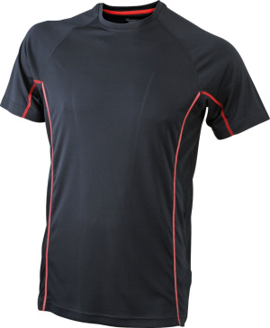 James & Nicholson – Men's Running Reflex-T Funktion T-Shirt