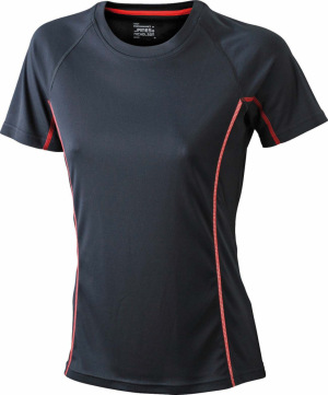 James & Nicholson – Ladies' Running Reflex-T Funktion T-Shirt