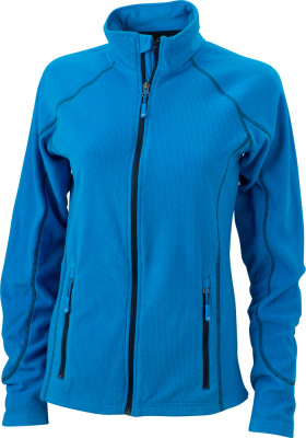 James & Nicholson – Ladies´ Structure Fleece Jacket