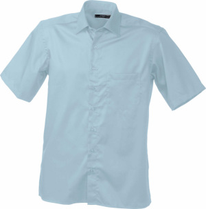James & Nicholson – Men's Business Shirt Short-Sleeved
