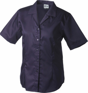 James & Nicholson – Ladies' Business Blouse Short-Sleeved