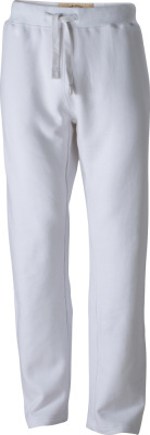 James & Nicholson - Men´s Vintage Pants (White)