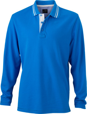 James & Nicholson – Men's Polo Long-Sleeved