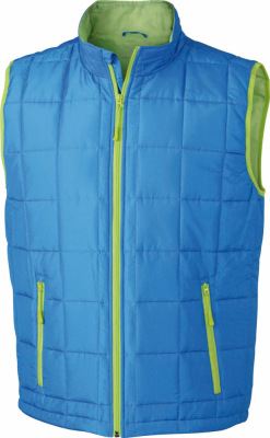 James & Nicholson – Men´s Padded Light Weight Vest