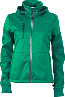 James & Nicholson – Ladies´ Maritime Softshell-Jacket