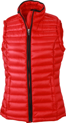 James & Nicholson – Ladies' Quilted Down Vest