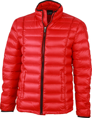 James & Nicholson – Men's Quilted Down Jacket