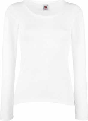 Fruit of the Loom – Lady-Fit Valueweight Long Sleeve T