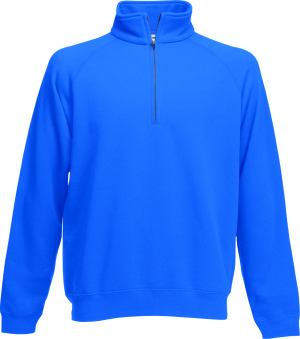 Fruit of the Loom – New Zip Neck Sweat