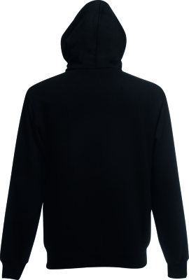 Fruit of the Loom - Kids Hooded Sweat Jacket (Black)