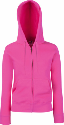 Fruit of the Loom – Lady-Fit Hooded Sweat Jacket
