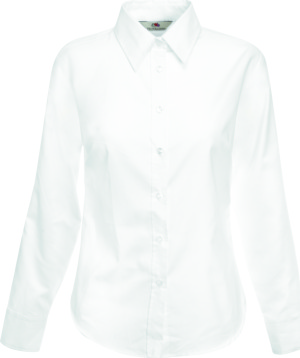 Fruit of the Loom – Lady-Fit Long Sleeve Oxford Blouse