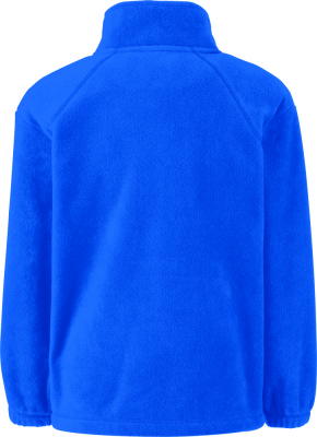 961a41ffe Kids Fleece Jacket (Royal Blue) for embroidery - Fruit of the Loom ...