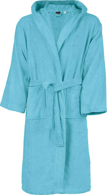 Kariban – Hooded Velour Bathrobe