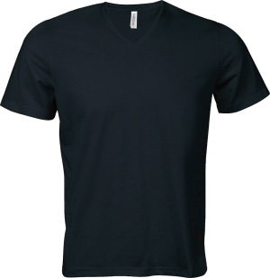 Kariban – Calypso Men ́s Short Sleeve V-Neck T-Shirt