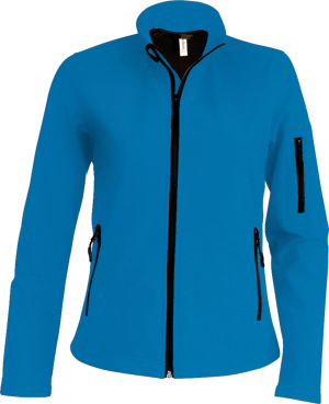 Kariban - Damen Softshell Jacke (Aqua Blue)