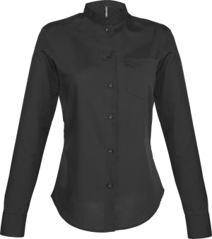 Kariban – Ladies Long Sleeve Mandarin Collar Shirt