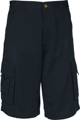 Kariban - Trekker Cargo Short (Dark Grey (solid))