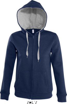 SOL'S – Contrast Hooded Zip Jacket Soul Women