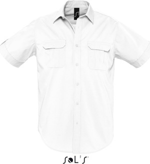 SOL'S – Mens Short Sleeve Shirt Botswana