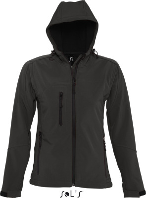 SOL'S – Womens Hooded Softshell Jacket Replay