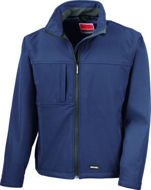 Result - Classic Soft Shell Jacket (Navy)