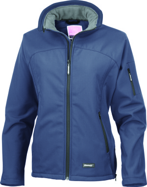 Result - La Femme Ladies Soft Shell (Navy)