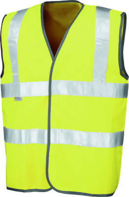 Result - Safety Hi-Viz Vest (Fluorescent Yellow)