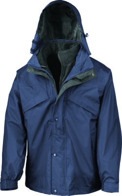 Result - 3-in-1 Zip & Clip Jacket (Navy)