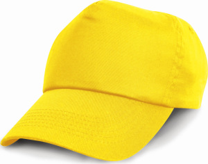 Result - Junior Cotton Cap (Yellow)