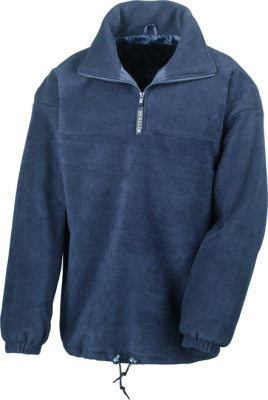 Result – 1/4 Zip Fully Lined Fleece Top
