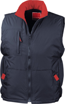 Result - Ripstop Team Vest (Navy/Red)