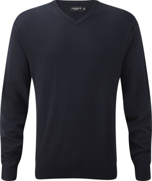 Russell – V-Neck Knitted Pullover