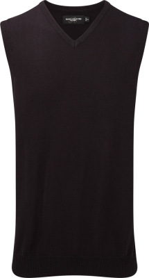 Russell – Men´s V-Neck Sleeveless Knitted Pullover