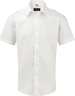 Russell – Men´s Short Sleeve Easy Care Tailored Oxford Shirt