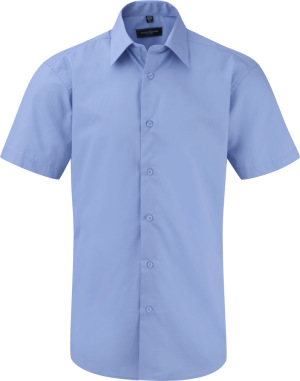 Russell – Men´s Short Sleeve PolyCotton Easy Care Tailored Poplin Shirt