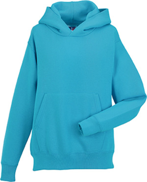 Russell - Children´s Hooded Sweatshirt (Turquoise)