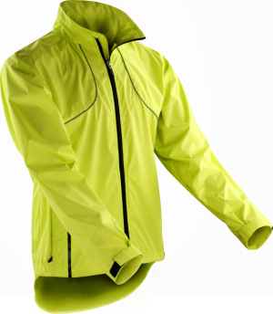 Spiro - Crosslite Trail & Track Jacket (Neon Lime)