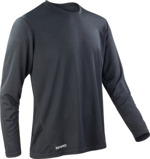 Spiro - Mens Quick Dry Shirt (Black)